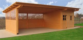 tettoia auto legno autocover tradizionali in legno venezia treviso l arredo