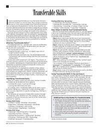 Nursing Skills List Resume 13 Best Transferable Skills Images On Pinterest Career