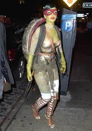 60 supersexy celebrity halloween costumes rihanna dress teenage