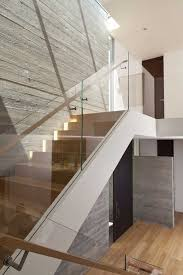 Glass Banister Staircase 8 Best Railing Images On Pinterest Railings Interior Stairs And