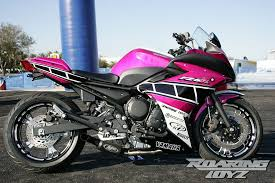 yamaha fz6r pink 0435 my style pinterest paint nice and pink