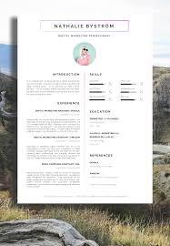 Creative Resume Templates Download Creative Design Resume Cv Template Download Best Of Resume Format