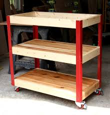 how to build a rolling grill cart grilling storage and tutorials