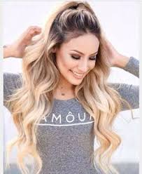 creating roots on blonde hair today we want to offer you dark roots blonde hair colors which