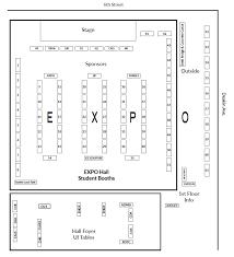 expo floor plan college of engineering university of idaho