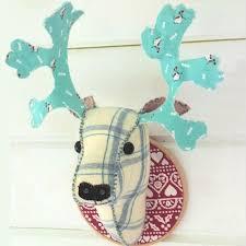 Christmas Decorations Reindeer Head by 24 Best Reindeer Head Wall Decoration Images On Pinterest