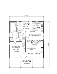 Bungalow Floor Plans With Basement 54 Best Small House Plans Images On Pinterest House Floor Plans