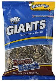 bacon sunflower seeds giants sunflower seeds bacon ranch 5 0 oz nutrition information