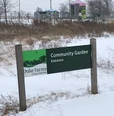 winter grayson blankets duke farms garden with snow