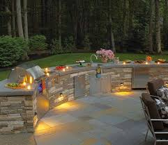 outdoor kitchen lighting ideas best 25 outdoor kitchens ideas on backyard kitchen