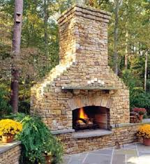 outdoor stone fireplace outside stone fireplace designs deck design and ideas