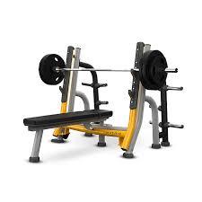 Straight Bench Press Magnum Series Breaker Olympic Flat Bench Matrix No 1 Fitness