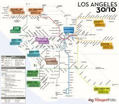 Metro La Map How Feasible Is Antonio Villaraigosa U0027s 30 10 Gambit For Los