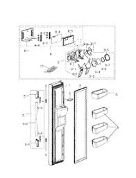 parts for samsung rs2530bbp xaa 0000 refrigerator