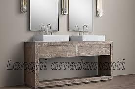 mobile bagno grezzo mobili da bagno color argento mattsole
