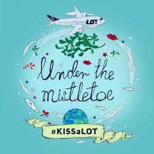 lot polish airlines puts the world under mistletoe