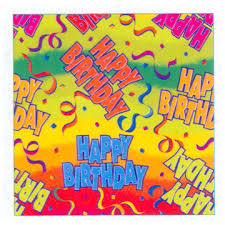 birthday gift wrap gift wrap birthday party supplies discontinued rainbow birthday
