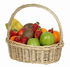 basket of fruit basket of fresh fruit beautiful flowers florist hutt