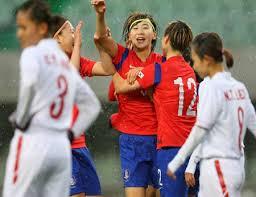 bong nu bóng đá nữ việt nam chia tay vòng loại olympic bằng trận thua hàn quốc
