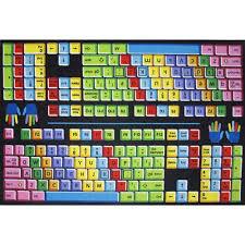 Large Kids Rug Fun Rugs Keyboard Kids U0027 Rug Multi Color 5 U00273