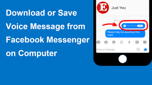cara download mp3 dari youtube di pc how to save or download voice message from facebook messenger or