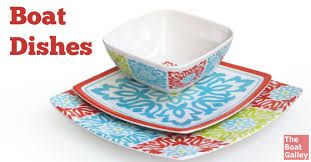 Nautical Themed Dinnerware Sets - unbreakable boat dishes the boat galley