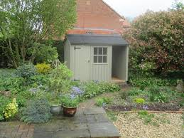 blickling garden shed with integral log store free delivery