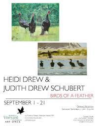 heidi drew u0026 judith drew schubert u2013 birds of a feather martha u0027s