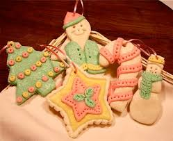 baked dough ornaments
