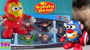 Potato Head Kit Toy Story Potato Head Mixable Mashable Heroes Avengers Marvel Toy Review