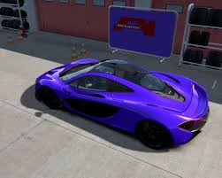 mclaren p1 purple skins mclaren p1 base skin pack racedepartment