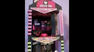 Monster High Doll House Furniture My Daughter U0027s Custom Made Monster High Doll House Youtube