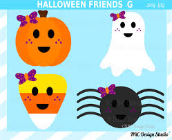 ghost and pumpkin clipart 42
