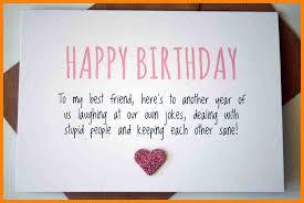 6 happy birthday to my bestie formatting letter