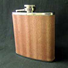 wooden flasks personalized wood hip flask images inc