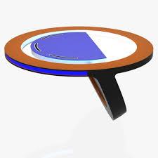 tv studio desk 3d model desk virtual tv studio news desk cgtrader