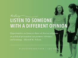 Opinions Meme - listen to different opinions