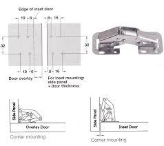 cabinet cabinet hinge installation no bore concealed hinge