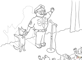 officer buckle and gloria taking a bow coloring page free
