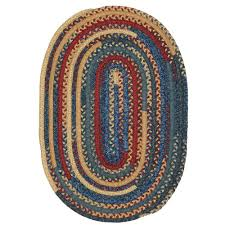 Area Rugs Barrie Braided Oval Area Rugs Rugs The Home Depot