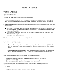 Cosmetology Resume Objective How To Write A Good Resume Objective Resume For Your Job Application