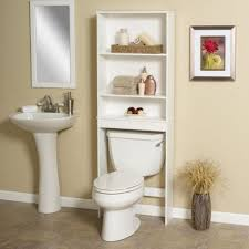 bathrooms design over commode storage cabinets bathroom shelves