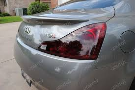Tail Light Out 2009 Infiniti G37 With Super Cool Black Out Tail Light Covers