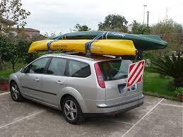porta kayak per auto oki trasportare 2 kayak