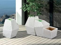 garden rattan wicker flower pots krfp108 china outdoor furniture