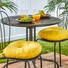 Yellow Bistro Chairs Greendale Home Fashions 15 Inch Indoor Outdoor