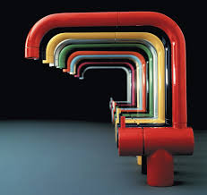 colored kitchen faucets arne jacobsen s iconic faucet is most often seen in a stainless or