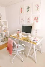 Pink Glass Desk 20 Feminine Glass Desks For Modern Workspaces House Design And Decor