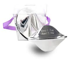 silver fortune cookie gift engraved silver fortune cookie in takeout box money holders and gift