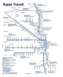 Chicago On A Map by Chicago U0027 U0027l U0027 U0027 Org System Maps Route Maps